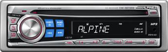 Produktfoto Alpine CDE-9873 RB