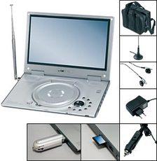 clatronic ctv 732 dvb t tragbarer dvd player tests. Black Bedroom Furniture Sets. Home Design Ideas