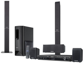 panasonic sc pt 550 dvd heimkinosystem tests. Black Bedroom Furniture Sets. Home Design Ideas