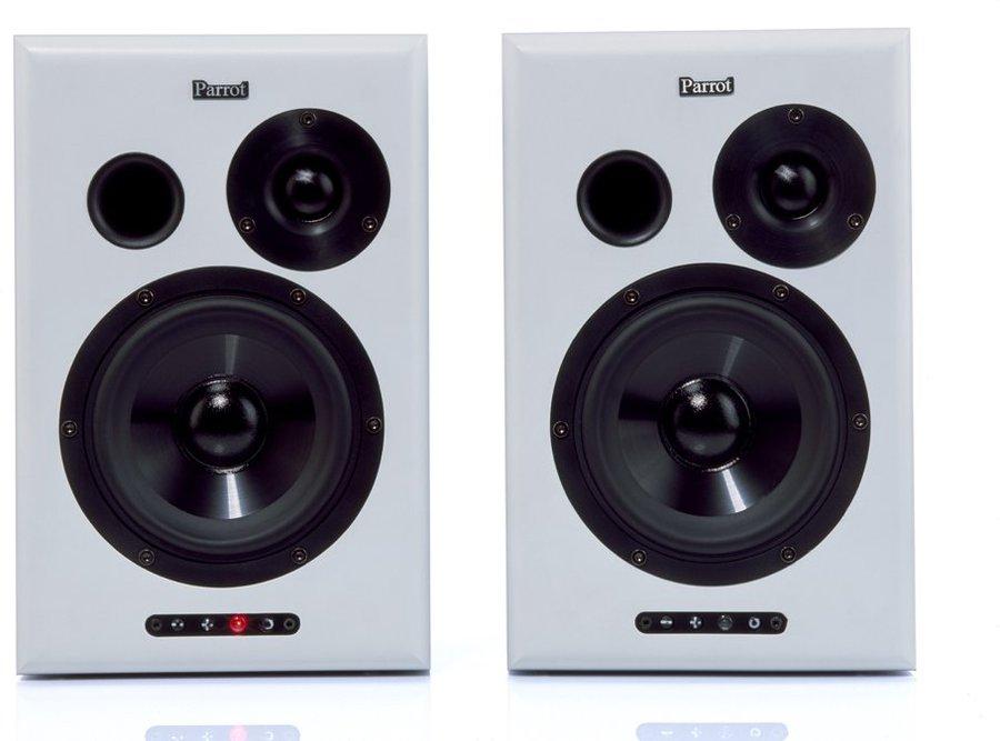 parrot sound system kompaktlautsprecher aktiv tests. Black Bedroom Furniture Sets. Home Design Ideas
