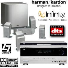 Produktfoto Harman-Kardon Cinelife 500 (AVR137/DVD27/TSS500)
