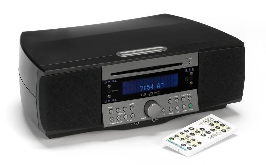 creative soundworks radio cd 745 cd kompaktanlage tests. Black Bedroom Furniture Sets. Home Design Ideas