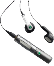 Produktfoto Sony Ericsson HBH-DS 205
