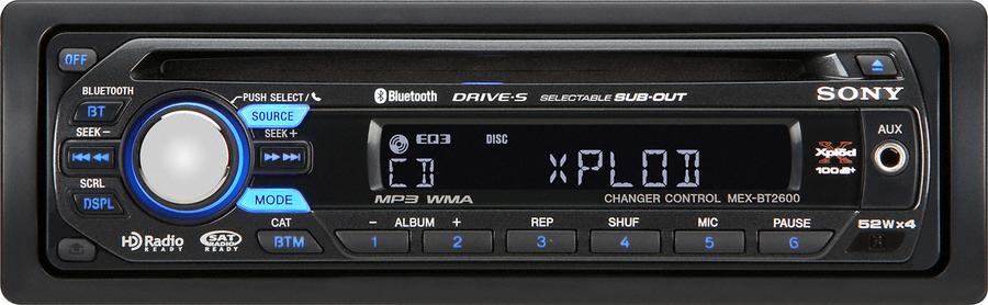 Sony MEX-BT2600 Autoradio: Tests & Erfahrungen im HIFI-FORUM