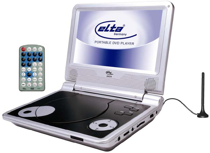 elta 8934 tragbarer dvd player tests erfahrungen im. Black Bedroom Furniture Sets. Home Design Ideas