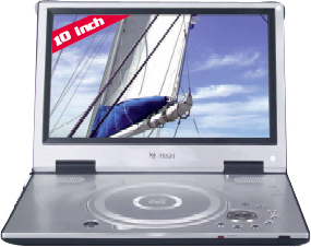 x4 tech titan dt 10 dvb t tragbarer dvd player tests. Black Bedroom Furniture Sets. Home Design Ideas