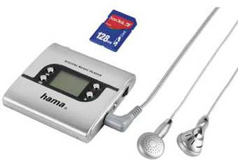Produktfoto Hama DMP 100 /56125 WITH SD-CARD