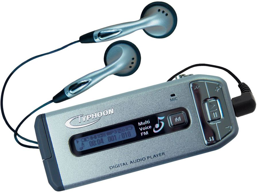 Typhoon Typhoon LIVE Music MP3 Player W/FM MP3-Player: Tests