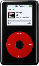 Produktfoto Apple iPod U2 Special Edition (MA127)