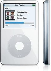 Produktfoto Apple MA002 iPod (5. Gen.)