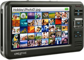 Produktfoto Creative ZEN Vision W