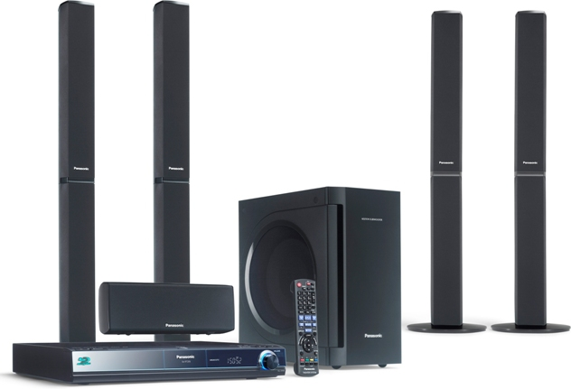 panasonic sc bt205 blu ray heimkinosystem tests. Black Bedroom Furniture Sets. Home Design Ideas