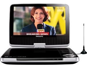 philips pet 946 tragbarer dvd player tests erfahrungen. Black Bedroom Furniture Sets. Home Design Ideas