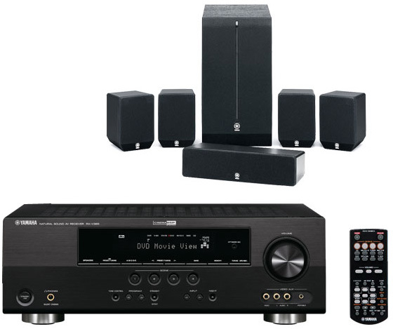 yamaha htib 109 receiver set mit lautsprechern tests