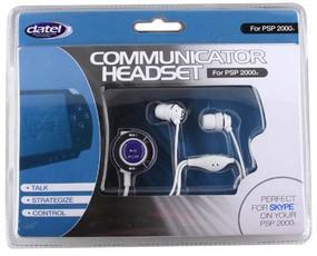 Produktfoto Datel Slimline Communicator Headset PSP