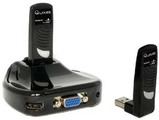 Produktfoto Q-Waves Qwusbavkit Wireless USB TO HDMI Extender