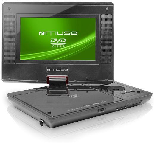 muse m 768dp tragbarer dvd player tests erfahrungen im. Black Bedroom Furniture Sets. Home Design Ideas