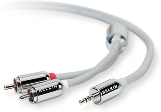 Produktfoto Belkin Y Audio Cable
