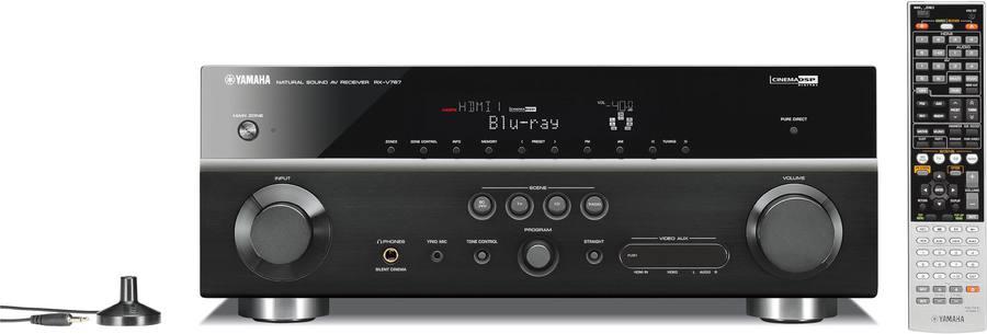 Yamaha rx v767 av receiver tests erfahrungen im hifi forum for Yamaha rx v767