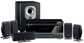 Produktfoto Harman-Kardon Cinestar 200II BQ (DVD16 + AVR141 + SCS200BQ)