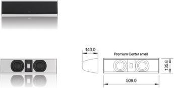 Produktfoto Piega Premium Center S