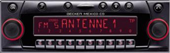 Produktfoto Becker Mexico CD 4337