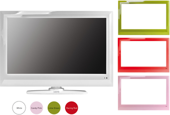 Produktfoto SEG Artcolor LED BLU TV
