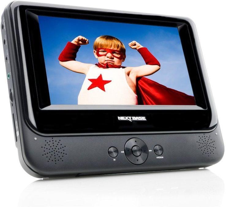 nextbase nb 48 tragbarer dvd player tests erfahrungen. Black Bedroom Furniture Sets. Home Design Ideas