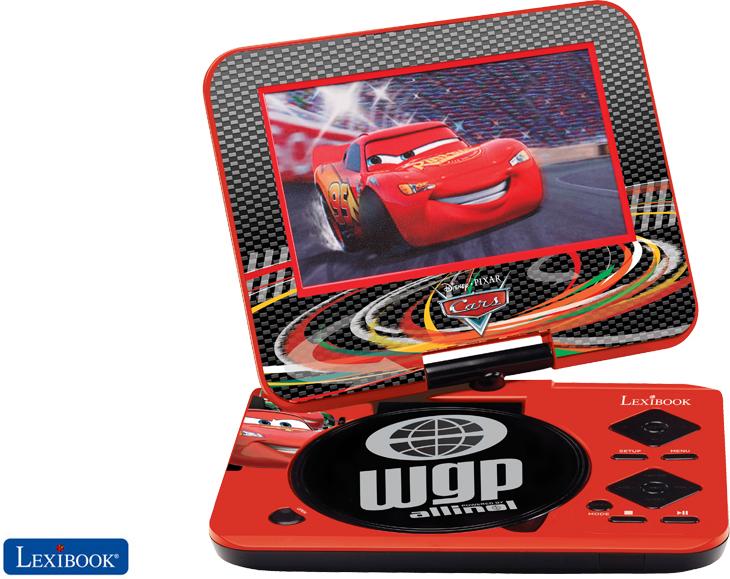 lexibook dvdp4dc disney cars tragbarer dvd player tests. Black Bedroom Furniture Sets. Home Design Ideas