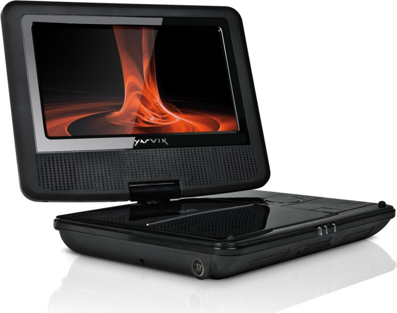 yarvik pdv103 tragbarer dvd player tests erfahrungen im. Black Bedroom Furniture Sets. Home Design Ideas