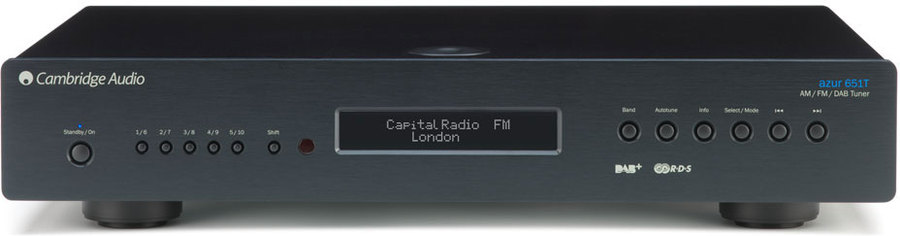 cambridge audio azur 651t dab dab tuner radio tests. Black Bedroom Furniture Sets. Home Design Ideas