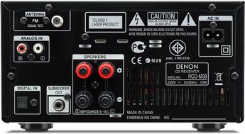 Produktfoto Denon RCD-M39BKE2