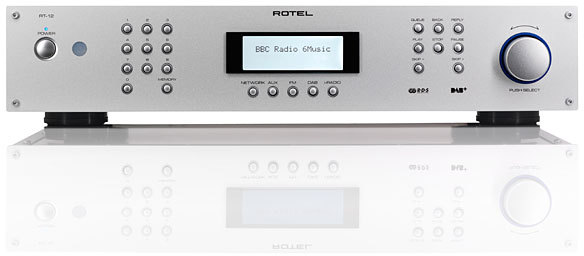 rotel rt 12 dab dab tuner radio tests erfahrungen im. Black Bedroom Furniture Sets. Home Design Ideas