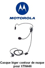 Produktfoto Motorola Headset FOR XTN446/CLS446