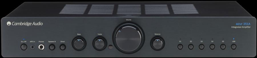 Cambridge Audio AZUR 351A Stereo-Verstärker: Tests ...