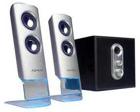 Produktfoto Advent ADE-210CS 2.1 Aluminium Speaker System