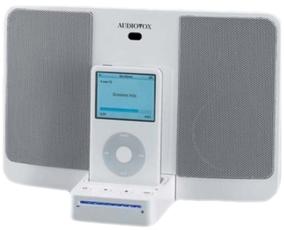 Produktfoto Audiovox IBOX 200 Black