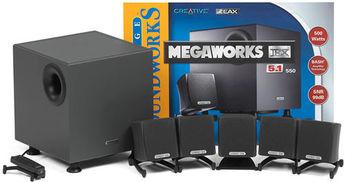 Produktfoto Creative Megaw. THX 550