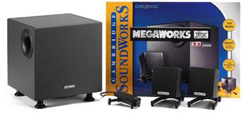 Produktfoto Creative Megaw. 250D THX 2.1