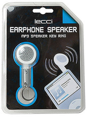 Produktfoto Lecci Earphone Speaker MP3 Speaker KEY RING