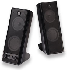 logitech x 140 stereo pc boxen tests erfahrungen im. Black Bedroom Furniture Sets. Home Design Ideas