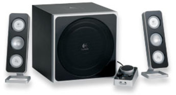 Produktfoto Logitech Z-4E 2.1 Speaker System