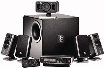 Produktfoto Logitech Z-5400 Digital 5.1 Speaker System