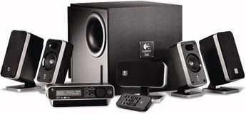 Produktfoto Logitech Z-5450 Digital 5.1 Speaker System