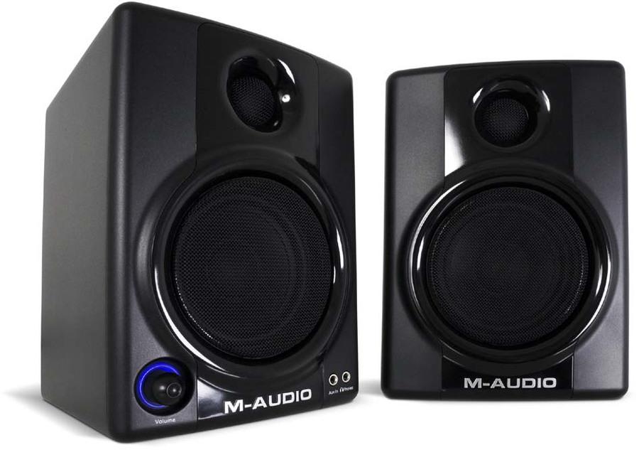 m audio studiophile av 30 stereo pc boxen tests. Black Bedroom Furniture Sets. Home Design Ideas