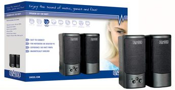 Produktfoto Sweex SP009 USB Speakerset