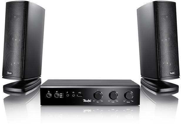 teufel concept b 200 usb stereo pc boxen tests. Black Bedroom Furniture Sets. Home Design Ideas