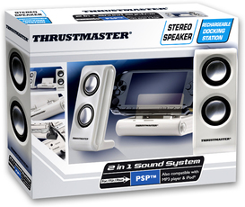 Produktfoto Thrustmaster 4160522/4160523 2IN1 Sound System White Edition