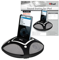 Produktfoto Trust SP-2990BI Sound Station FOR iPod