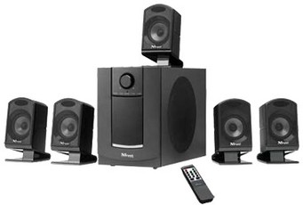 Produktfoto Trust 15420 SP-6800 5.1 Surround Speakerset
